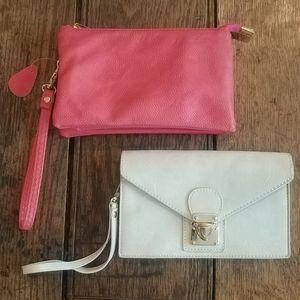 2 wristlet NWOT bags